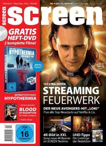 Cover: Screen Magazin Heimkino Kino Technik Games No 04 2021