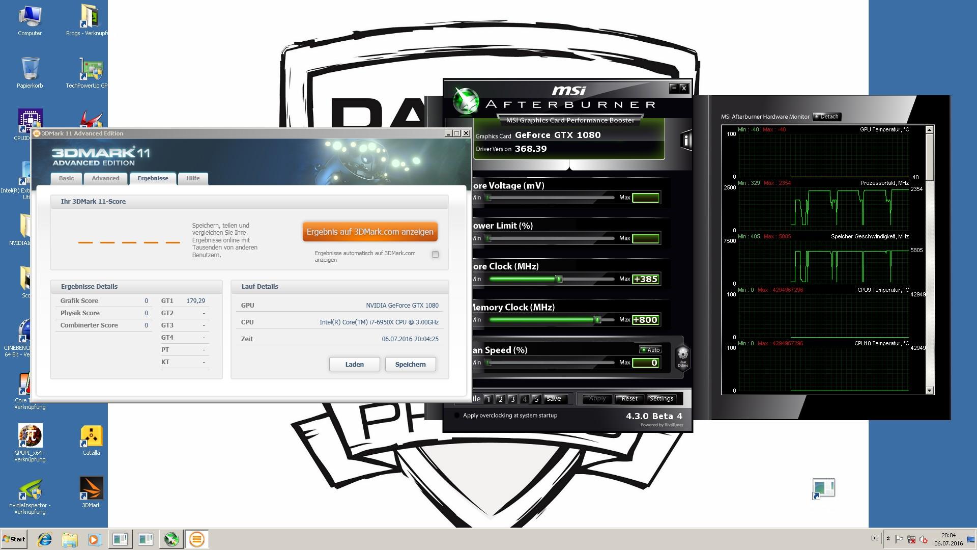 ASUS GTX 1080 Strix OC / LN2 Prep / BIOS / Experiences