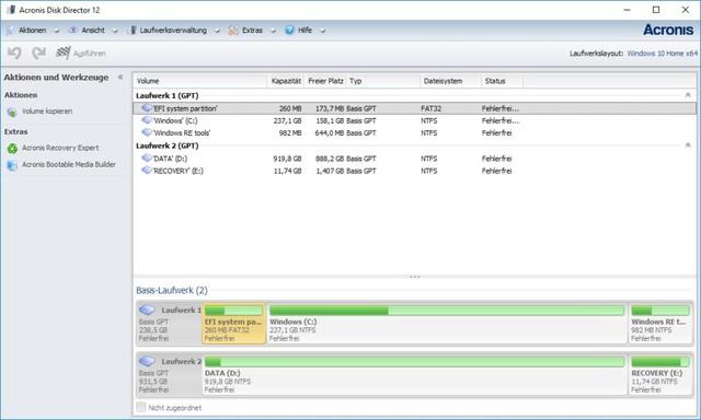 : Acronis Disk Director v12.0.0.3270 + Boot CD