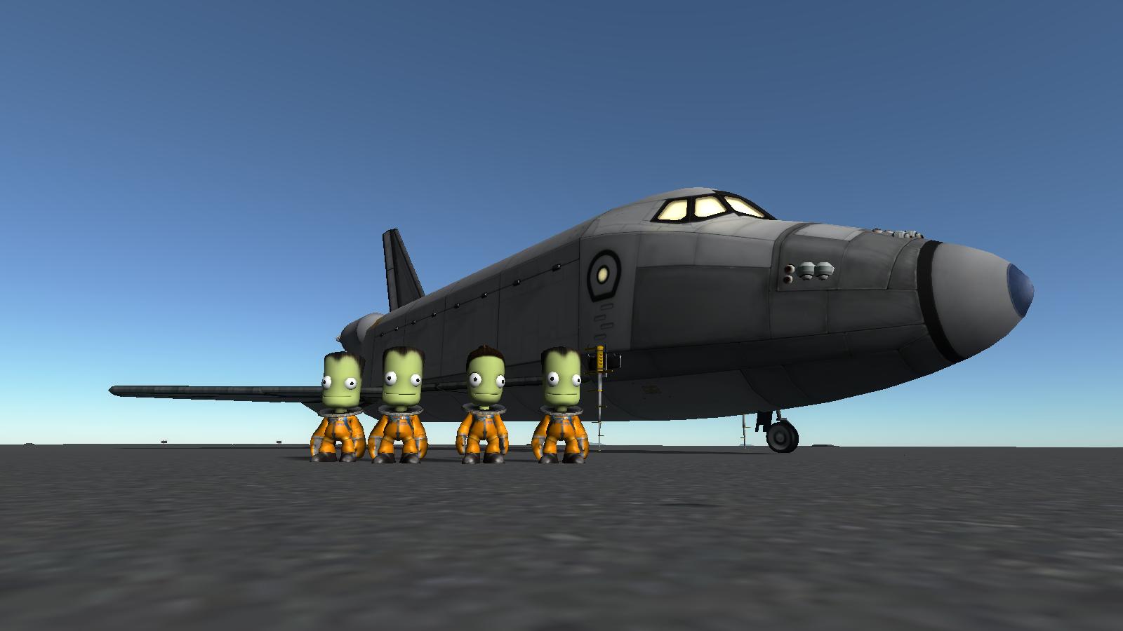 STS-7/E Space Shuttle (Stock NASA Replica) Still Flies in ...