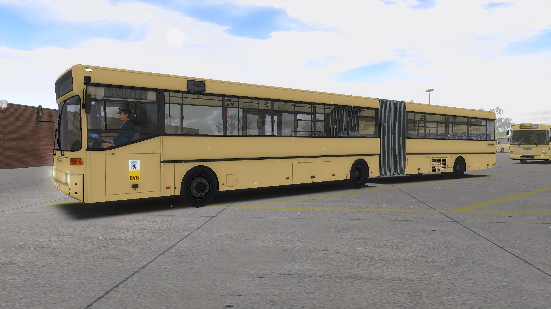 Repaintecke by HHA-7581 // NEU: Pedro O405G BVG Beige - Bus Repaints ...