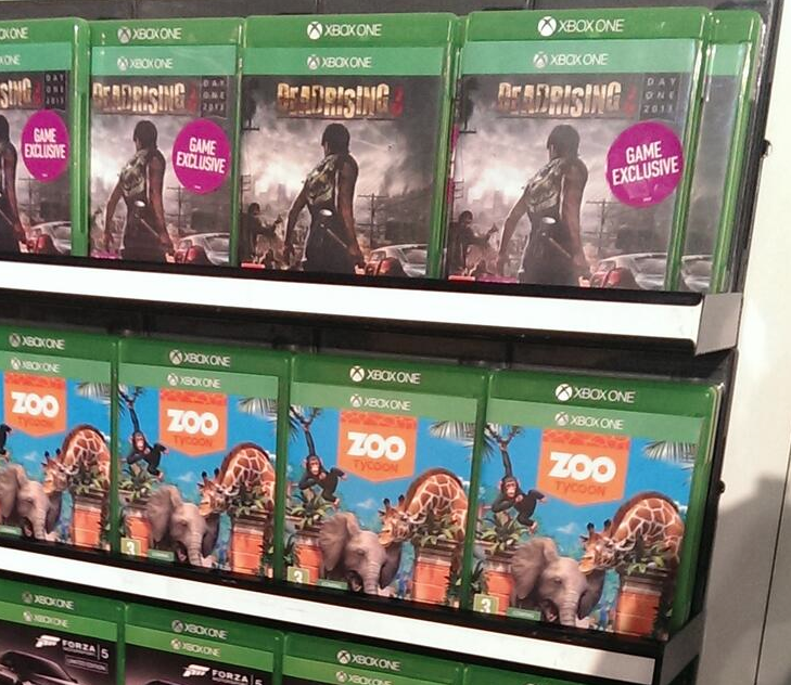 Here's what Xbox One game cases look like in real life ...
