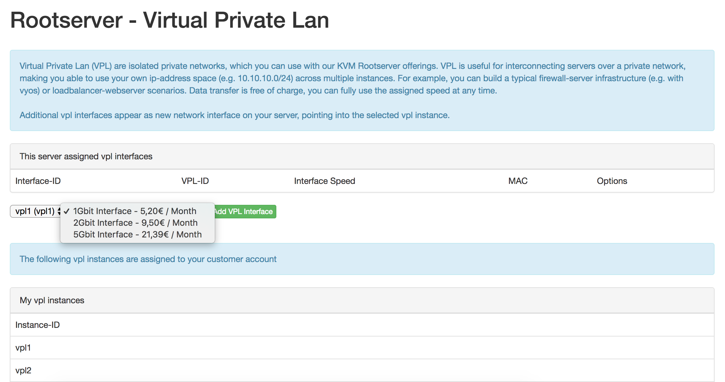 KVM Gen2 Rootserver - DDoS Protected - Frankfurt, Germany