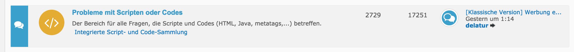 Index zeigt falschen Beitrag als neuesten Beitrag an Screenshot2018-07-04am7sof