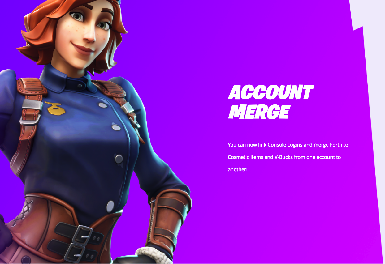 You can now merge your Fortnite accounts (takes 2 weeks)   ResetEra
