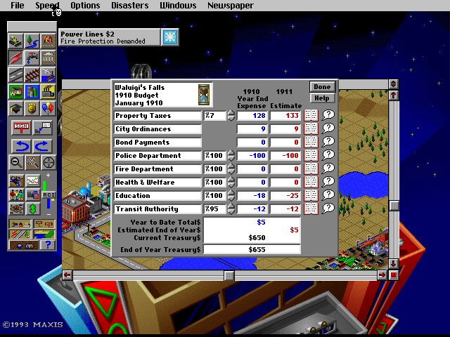 Group activity  Let's play SimCity 2000 together! (and maybe