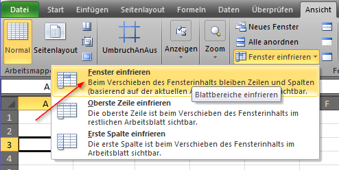 Excel 2013 fenster fixieren ms office forum for Xls fenster fixieren