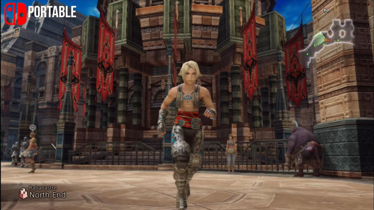 Digital Foundry   Final Fantasy 12: Switch/Xbox One Tested +