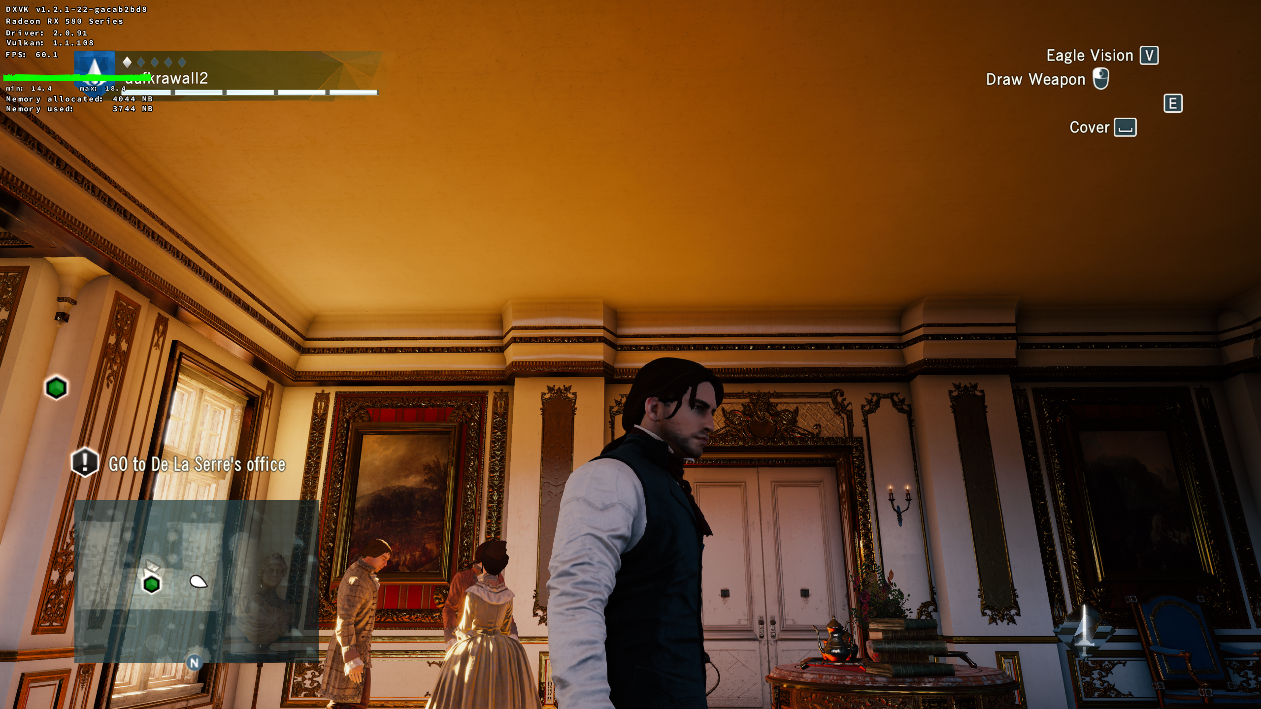 110662 – shadow artifacts in Assassin's Creed: Unity