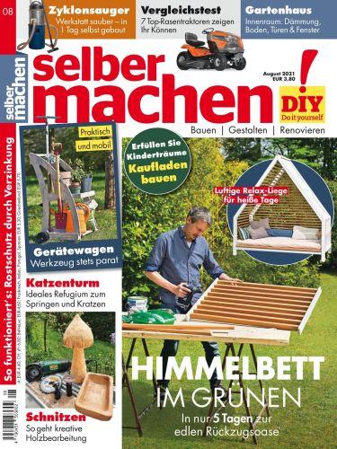 Cover: Selber Machen Heimwerkermagazin No 08 2021