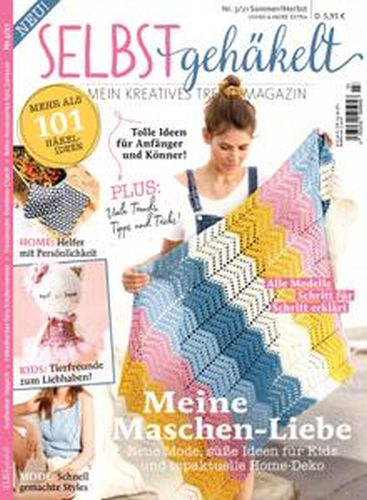 Cover: Selbst Gemacht Magazin No 03 Sommer-Herbst 2021