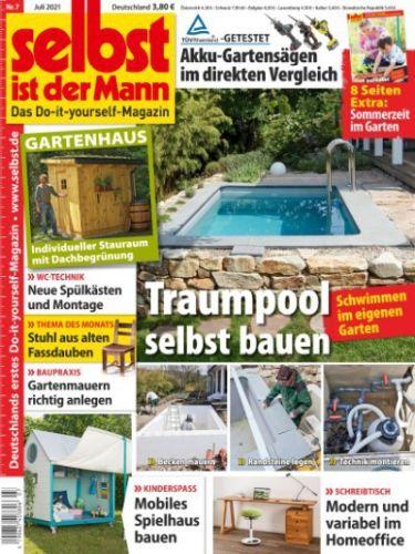 Cover: Selbst ist der Mann Heimwerkermagazin No 07 2021