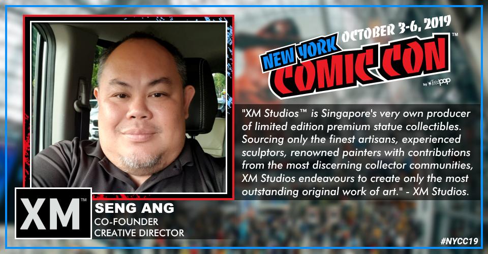 XM Studios: Coverage New York Comic Con 2019 - October 3rd to 6th  Sengnyccavjhn