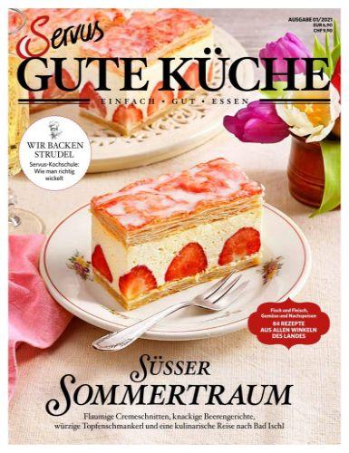 Cover: Servus Gute Küche Magazin No 01 2021