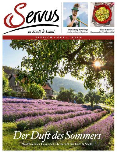 Cover: Servus in Stadt und Land Magazin No 06 Juni 2021