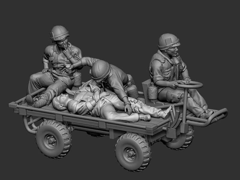 M274 Mechanical Mule - 1/72 Set2komplettvzjz1