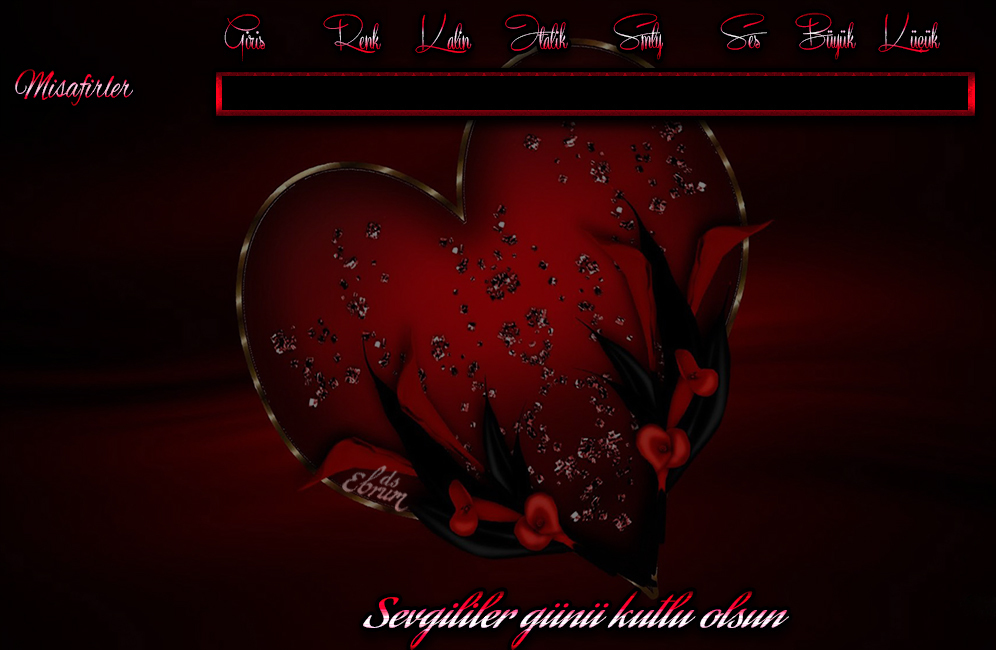 sevgililer günü tema 3
