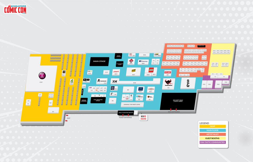 XM Studios: Coverage Singapore Comic Con 2019 – December 7th to 8th Sgcc-floorplan-2deckhjsv