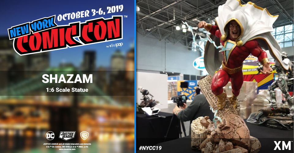 XM Studios: Coverage New York Comic Con 2019 - October 3rd to 6th  Shazam4qkn9