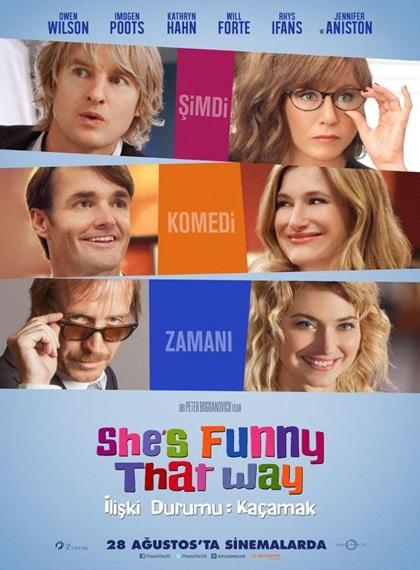 İlişki Durumu Kaçamak - She's Funny That Way | 2014 | BRRip XviD | Türkçe Dublaj - Tek Link