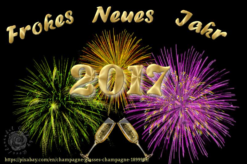 Guten Rutsch ins Neue Jahr 2017 - GIMP-Werkstatt