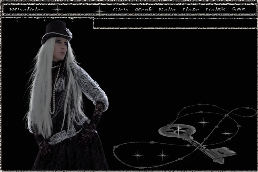 Dsn G�L.*Den,Flatcast Radyo Temas�-Siyah Beyaz Anahtarl� Tema-Forumelele-Gozdeforum