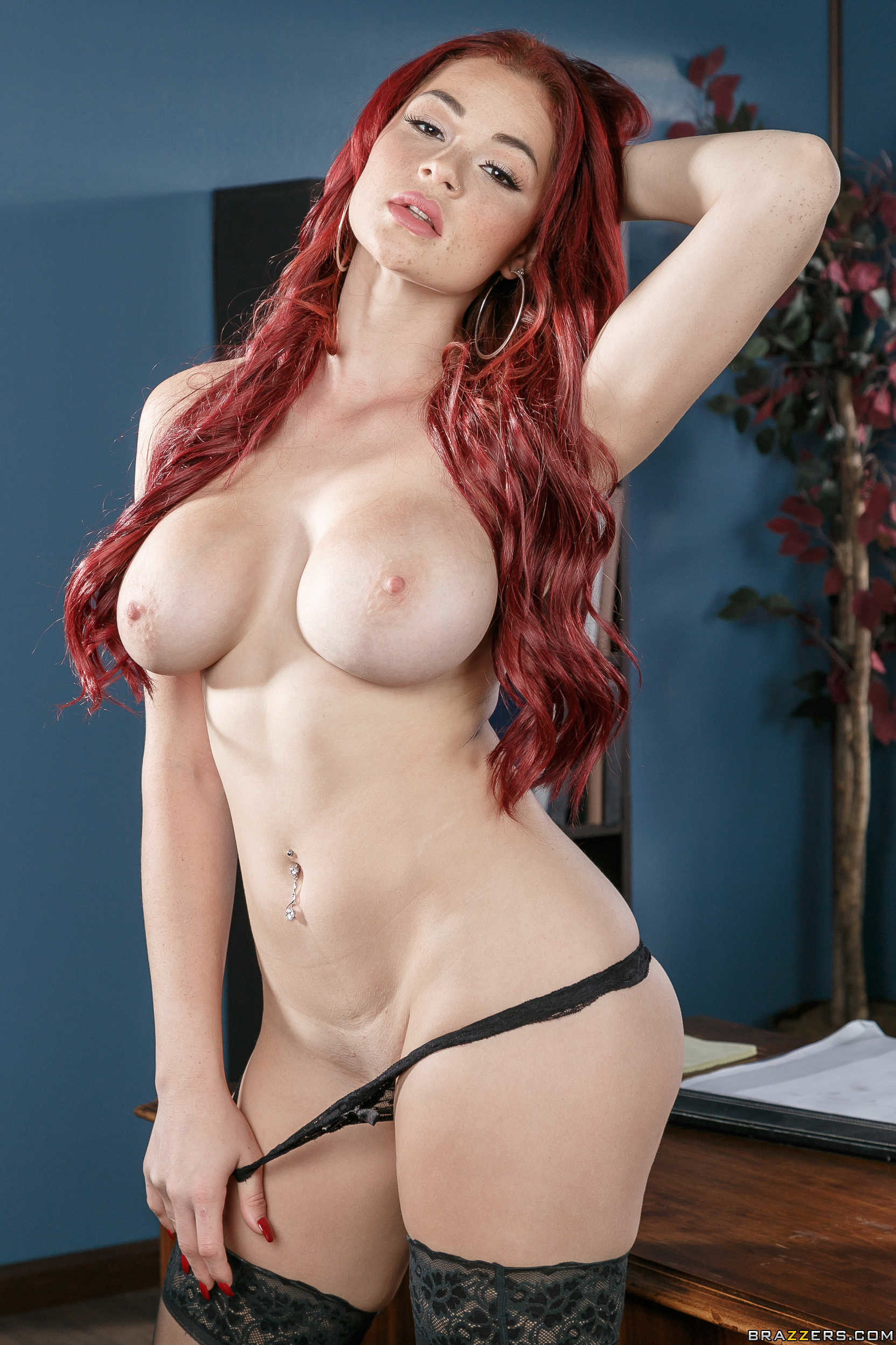 Pornstars with red hair