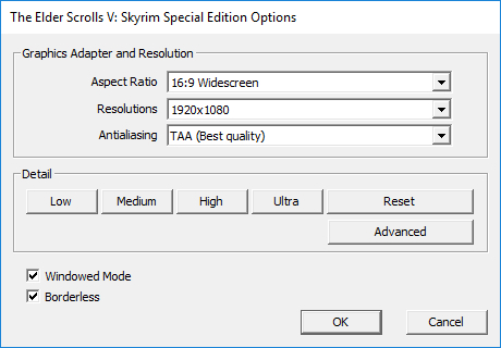 Elder scrolls online best option settings