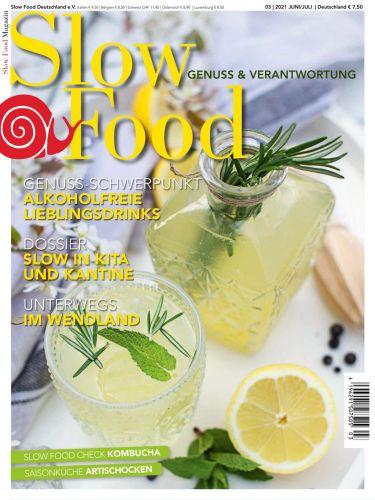 Cover: Slow Food Magazin No 03 Juni-Juli 2021