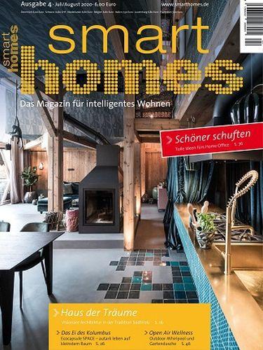 Cover: Smart Homes Das Magazin für intelligentes Wohnen No 04 Juli-August 2020