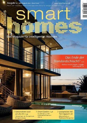 Cover: Smart Homes Magazin für intelligentes Wohnen No 04 2021