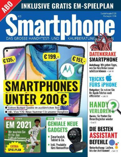 Cover: Smartphone Magazin No 04 2021