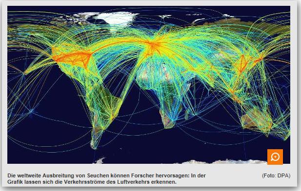 Flugrouten Karte Weltweit Goudenelftal