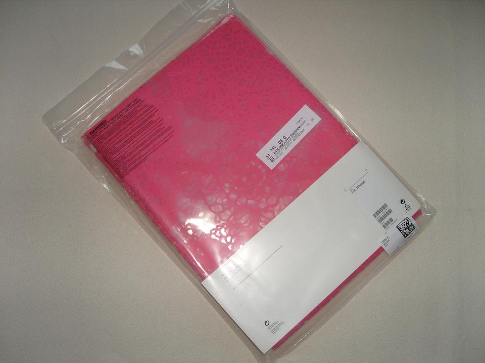 h m home duschvorhang vorhang bad dusche rosa pink mit blumen 180x200 neu ebay. Black Bedroom Furniture Sets. Home Design Ideas