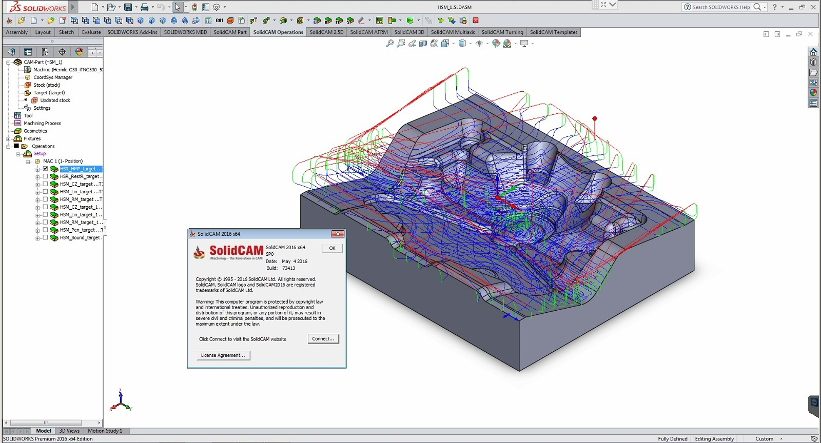 SolidCAM 2017 SP2 HF2 (64-Bit) - (SolidWorks 2012-2018)