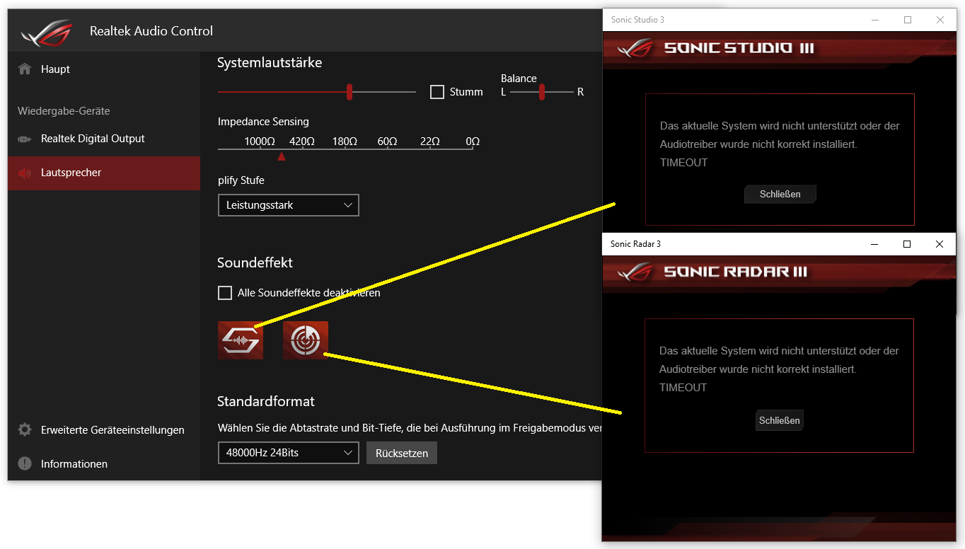 sonictrouble13xjmy - Soundproblem ROG STRIX B560-F GAMING WIFI