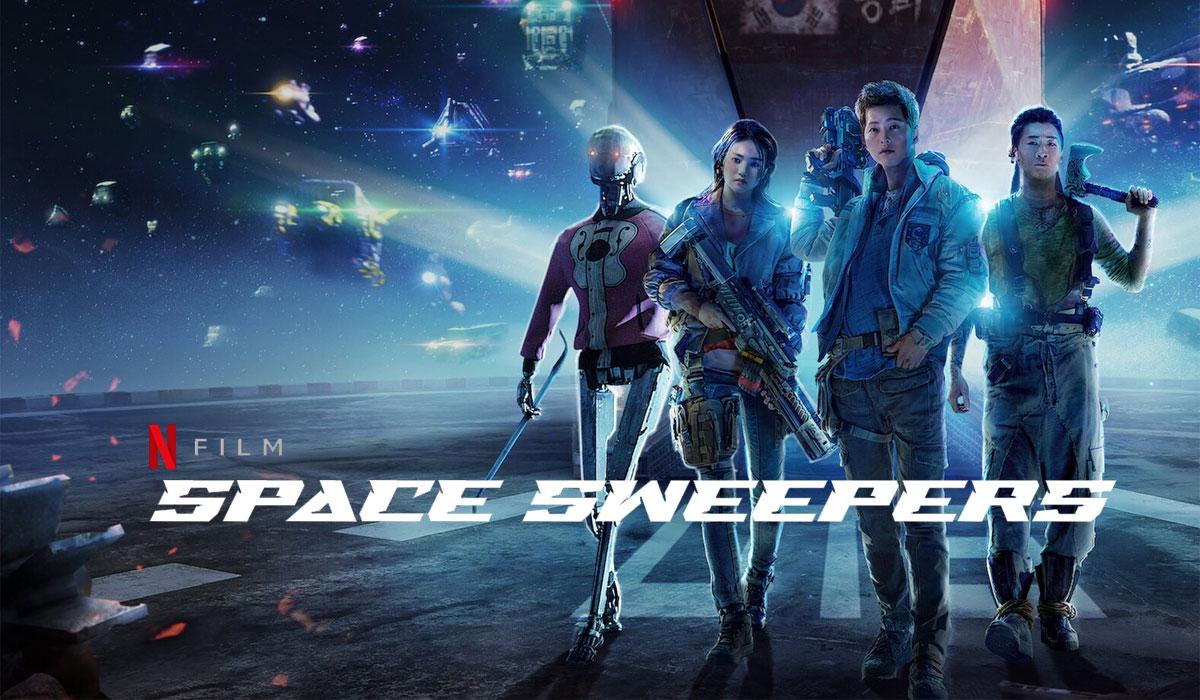 Space Sweepers Türkçe Dublaj indir | DUAL | 2021