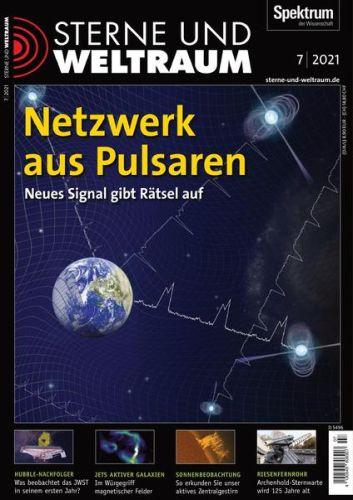 Cover: Spektrum der Wissenschaft Magazin Sterne und Weltraum No 07 2021