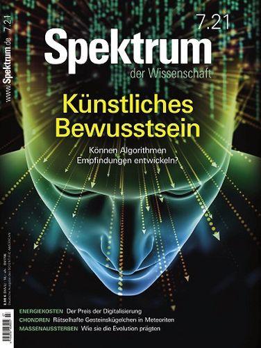 Cover: Spektrum der Wissenschaft Magazin No 07 2021
