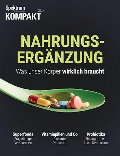 Cover: Spektrum der Wissenschaft Kompakt Magazin No 25 vom 28  Juni 2021