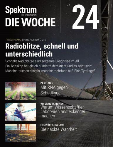 Cover: Spektrum Die Woche Magazin No 24 vom 17  Juni 2021