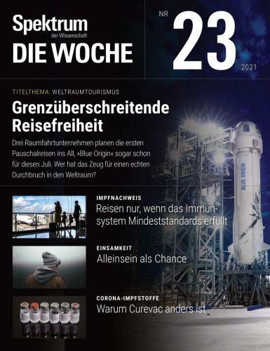 Cover: Spektrum Die Woche Magazin No 23 vom 10  Juni 2021