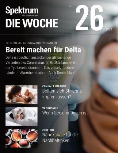 Cover: Spektrum Die Woche Magazin No 25 vom 01  Juli 2021