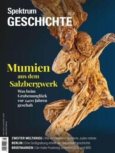 Cover: Spektrum Geschichte  Magazin No 03 2021
