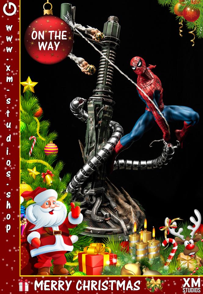 XM Studios: GHeroes Europe Christmas Special 2019 Spiderman3djhy