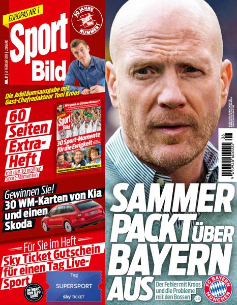 Sport Bild Magazin No 08 von 21 Februar 2018