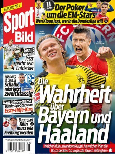 Cover: Sport Bild Magazin No 25 vom 23  Juni 2021