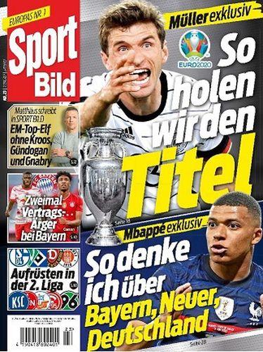Cover: Sport Bild Magazin No 23 vom 09  Juni 2021