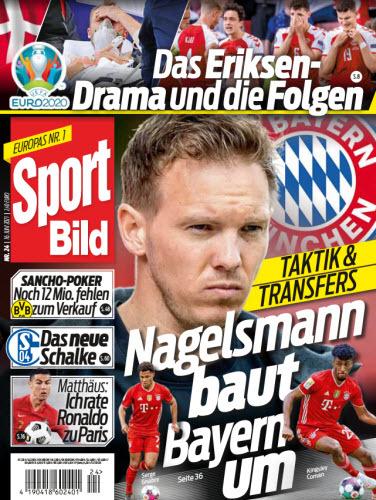 Cover: Sport Bild Magazin No 24 vom 16  Juni 2021