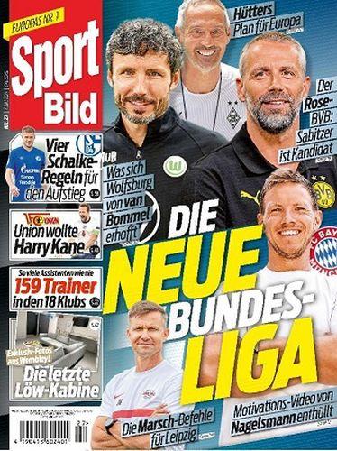 Cover: Sport Bild Magazin No 27 vom 07  Juli 2021